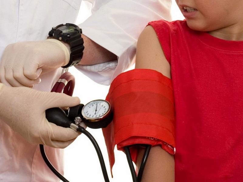 Измерение АД у ребенка
