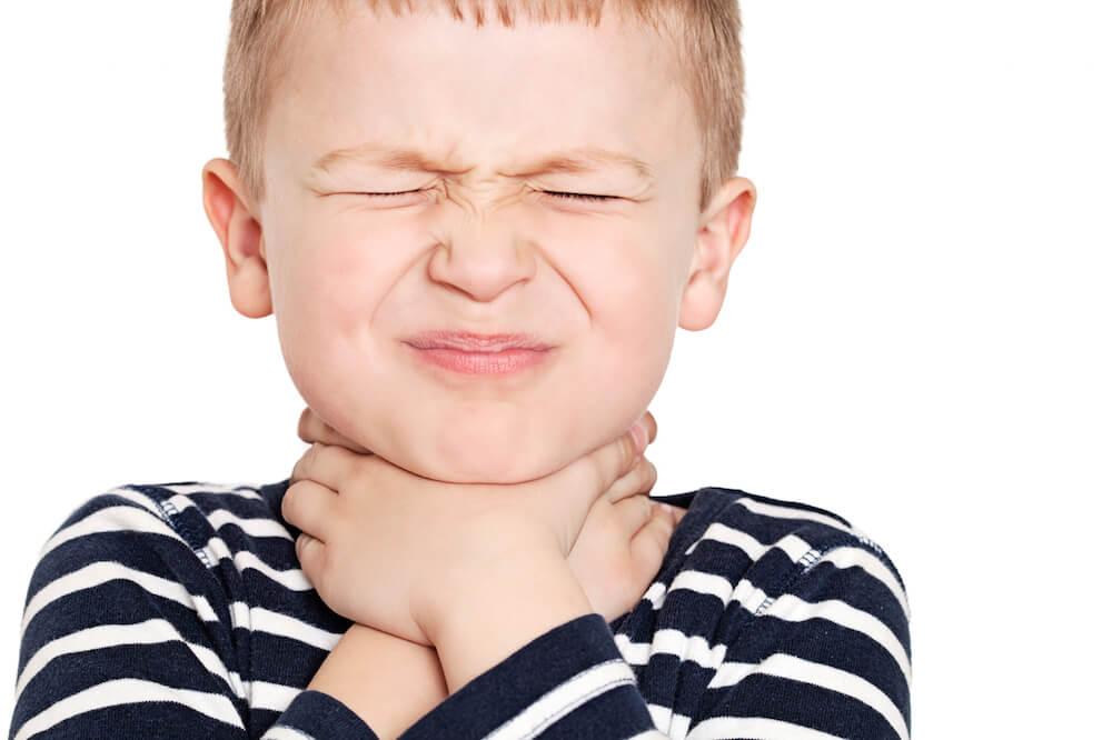 Красное горло у маленьких детей – отнюдь не редкость