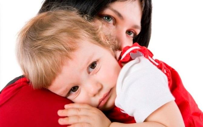 У маленького ребенка может возникнуть анемия – симптом недостатка гемоглобина в крови
