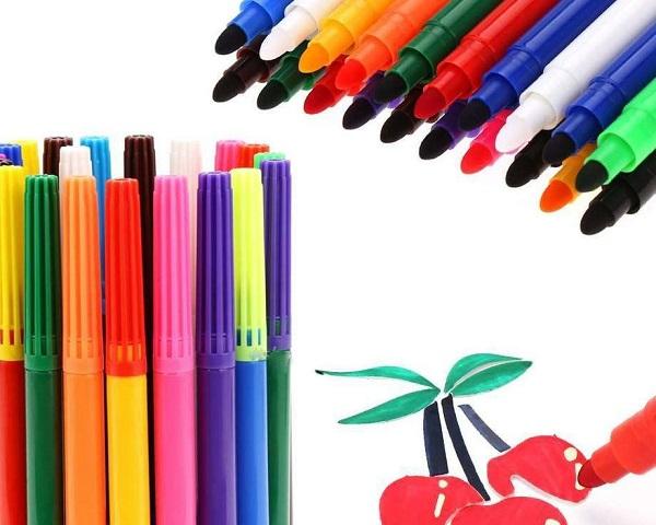 Фломастеры и маркеры различаются своими свойствами