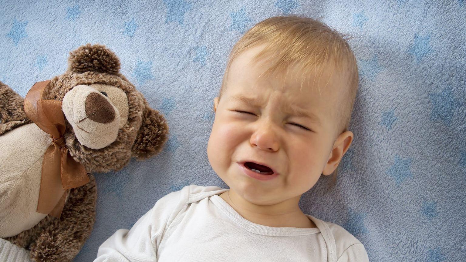 Малыш расстроился