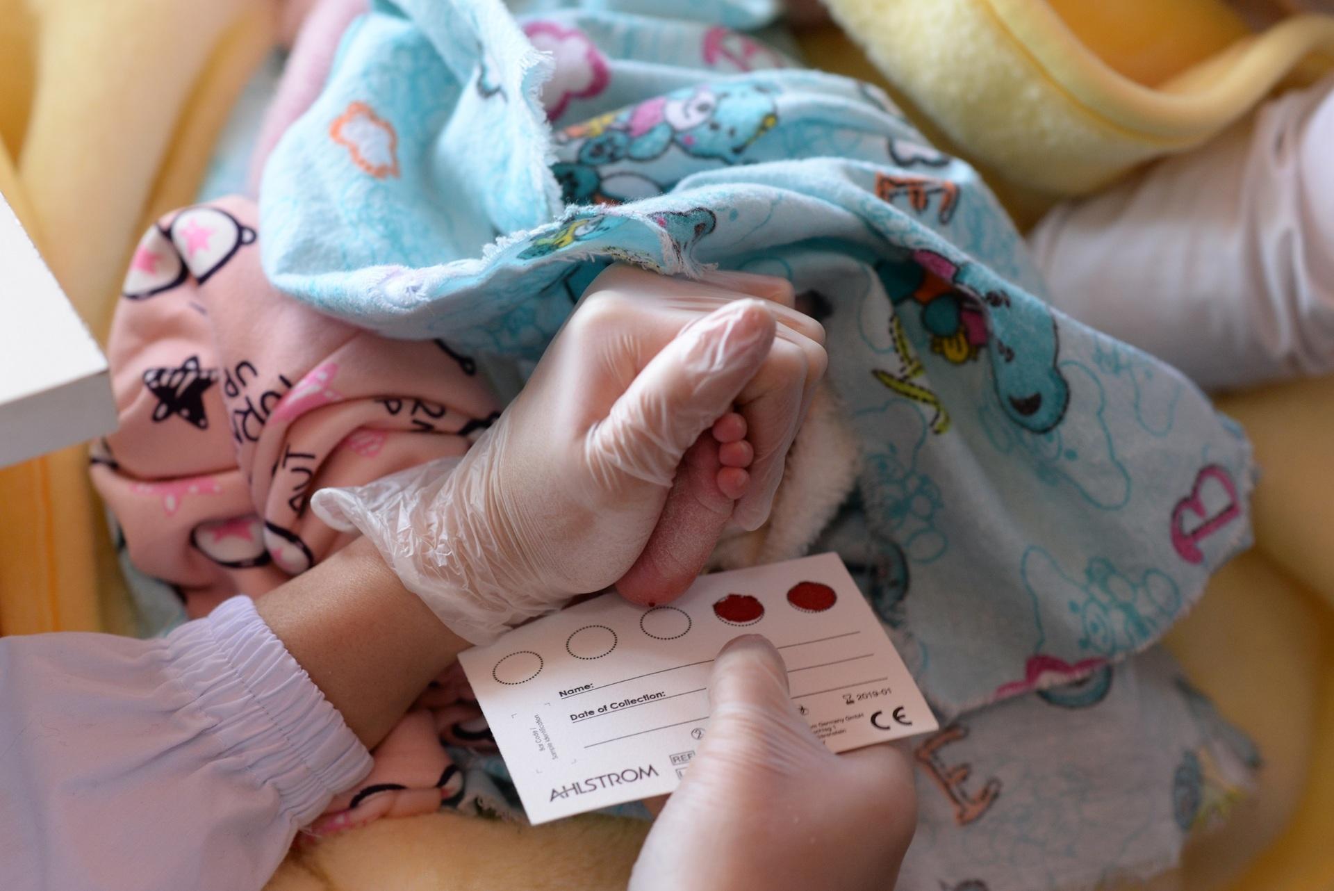 Скрининг на генные мутации новорожденных
